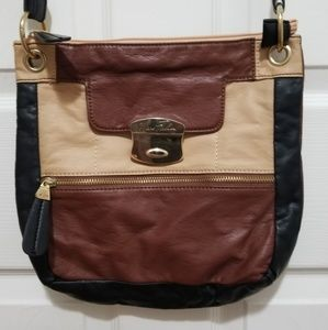 Marc Fisher Bags - Marc Fisher Colorblock Leather Crossbody